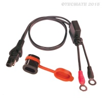 OptiMATE CABLE O-01 - Weatherproof battery lead, powersport