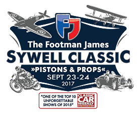 Sywell Classic - Pistons & Props - Saturday 23rd and Sunday 24th September 2017