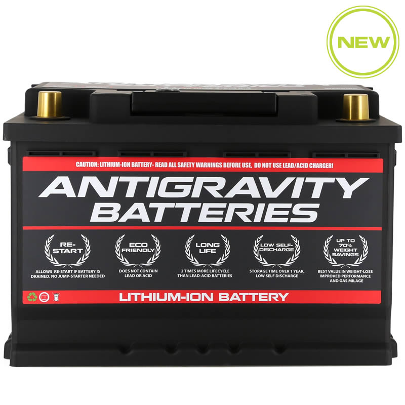 Lithium Ion Car Battery >> Antigravity H6 Group 48 Car Battery