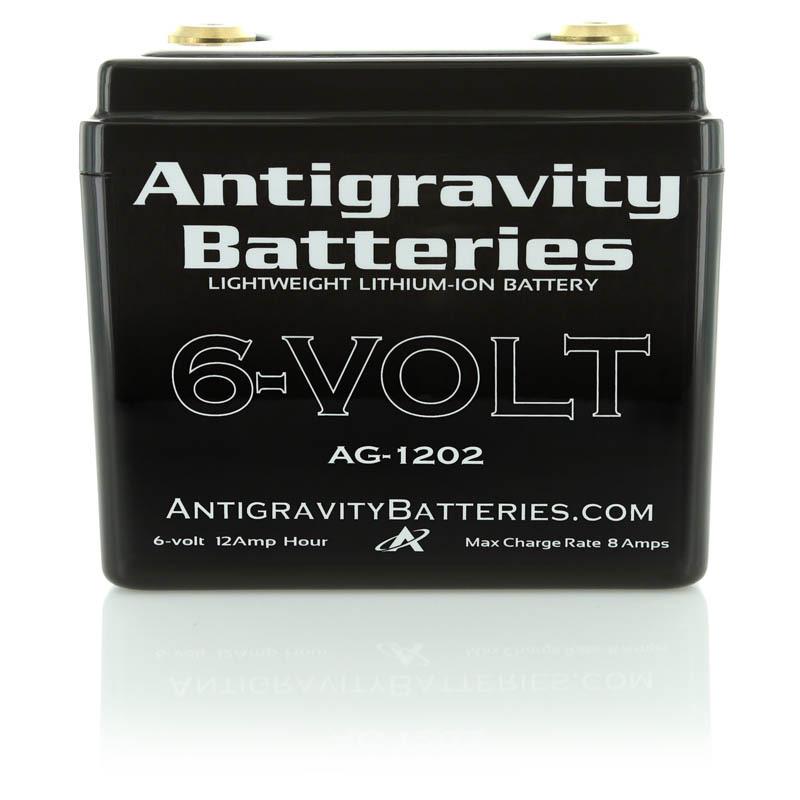 antigravity battery ag1202 6 volt lithium ion battery. Black Bedroom Furniture Sets. Home Design Ideas
