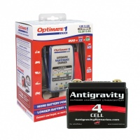 AG401 Battery & Optimate Duo1 Lithium charger